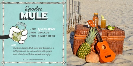 Spodee White Mule