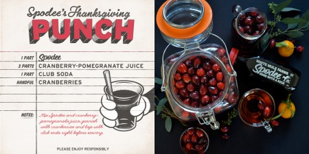 Spodee Red Thanksgiving Punch